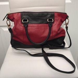 Tignanello Genuine Leather Crossbody/ Shoulder Bag